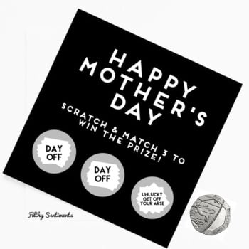 Mothers day Day Off card  FS148 - H0020