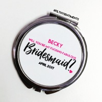 Will you be my bridesmaid POCKET MIRROR - F00041