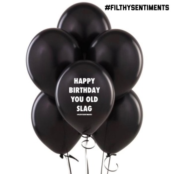 OLD SLAG BALLOONS (Pack of 5)