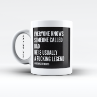 DAD LEGEND MUG - M086