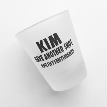 *PERSONALISED SHOT GLASS*