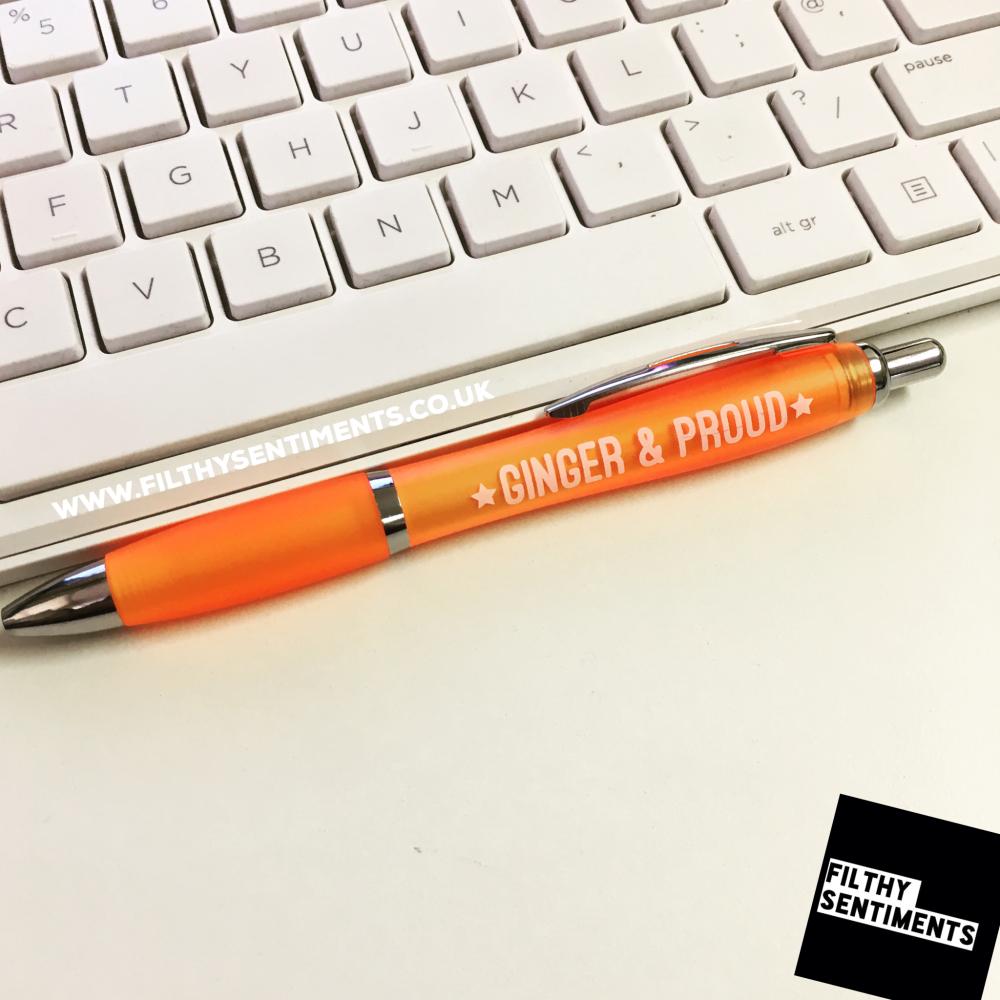 *NEW* GINGER & PROUD pen