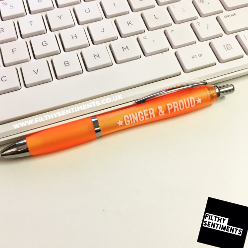 *NEW* GINGER & PROUD pen
