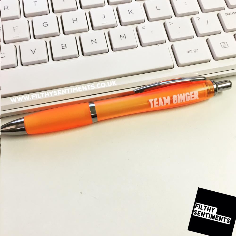 *NEW* TEAM GINGER pen