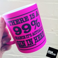 COLOURED BESPOKE 99% MUG