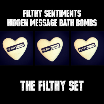 Pack of 3 FILTHY BATH BOMBS - E00013
