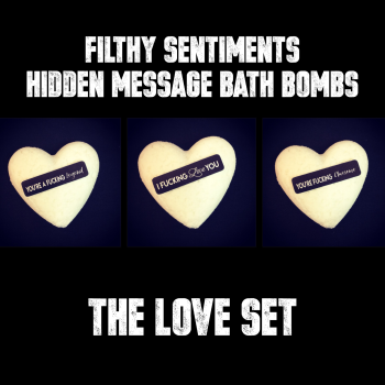 Pack of 3 LOVE BATH BOMBS - E0007