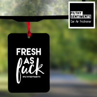 Air Freshener - FRESH AS FUCK - AIR0007 - F0006