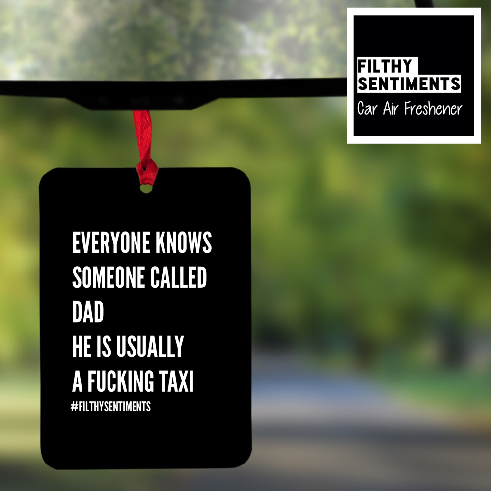 Air Freshener - DADS TAXI