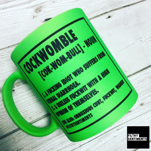 MUG - COCKWOMBLE 136