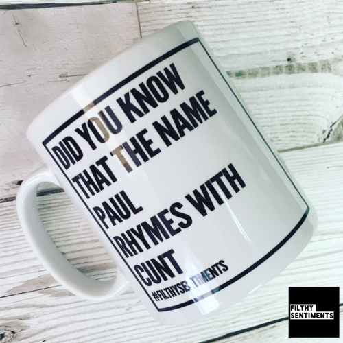 MUG - RHYMES WITH