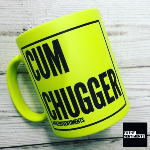 *NEW* CUM CHUGGER MUG