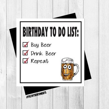 BEER CARD - FS301 - G0013