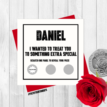*NEW* PERSONALISED ROULETTE SCRATCH CARD - PER75
