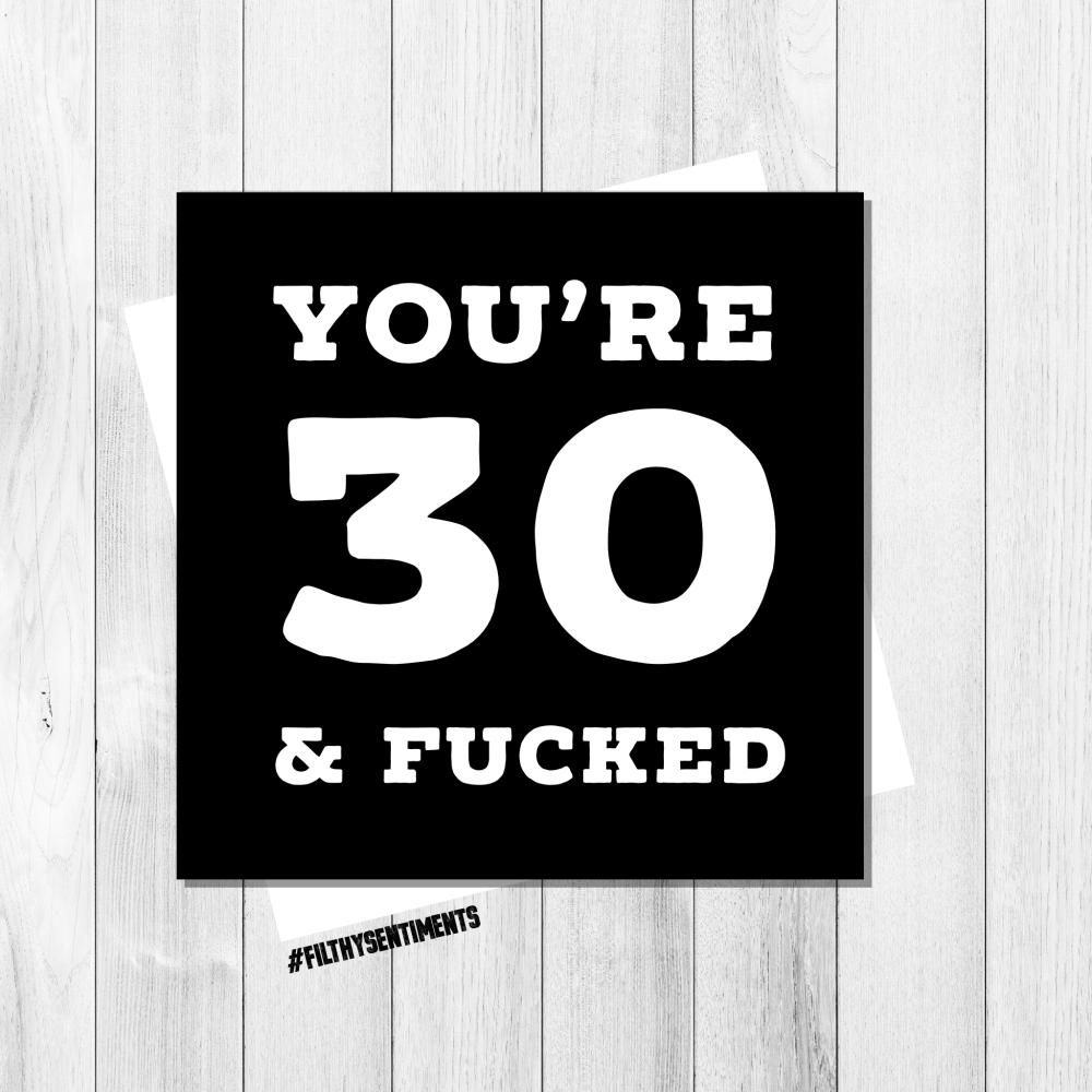 30 & FUCKED - FS206 - G0022