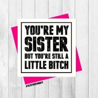SIBLING SISTER CARD - PER34