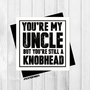 *NEW* UNCLE CARD - PER34