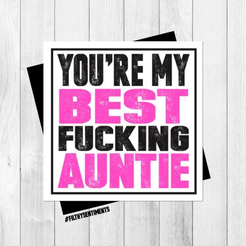BEST AUNTIE CARD - PER60