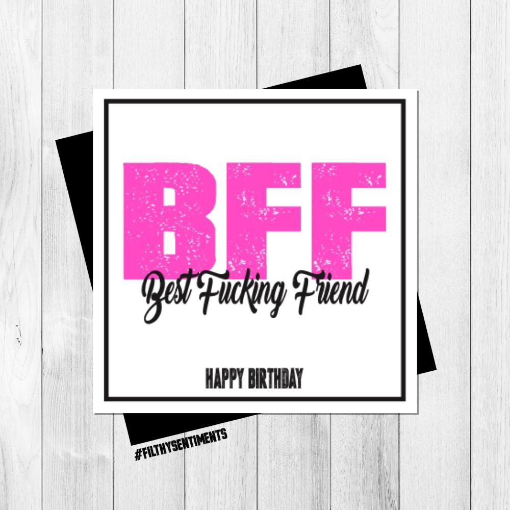 BFF CARD - PER61