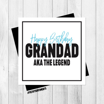 GRANDAD  LEGEND CARD - PER67