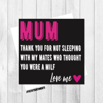 MUM MILF CARD - FS132 - H0017
