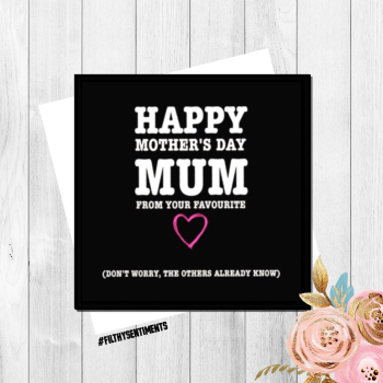 They all know Mothers Day card - FS153 - H0016