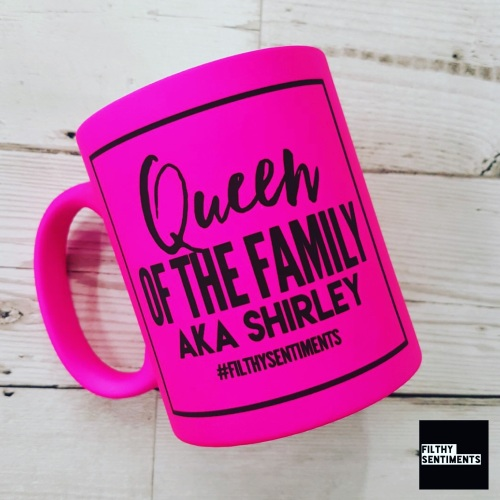 QUEEN OF THE FAMILY MUG 138