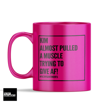 PULLED A MUSCLE MUG - 143