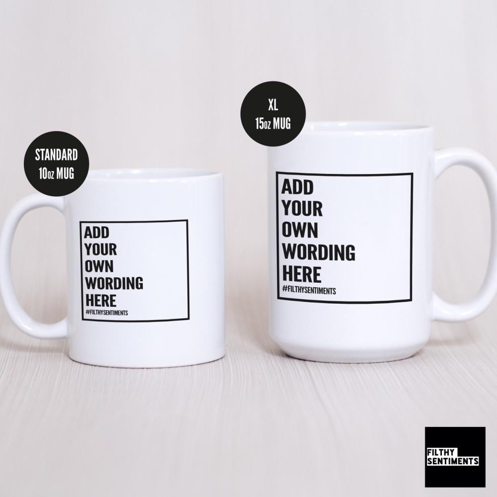 Bespoke Create Your Own Mug
