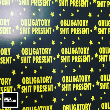 Obligatory Shit Present Wrapping Paper - D00037