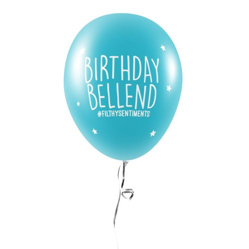 BIRTHDAY BELLEND BALLOONS (Pack of 5) -