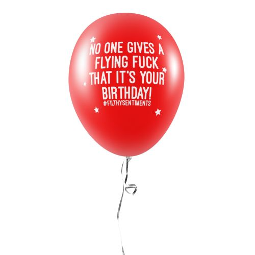 FLYING FUCK BALLOONS (Pack of 5) -