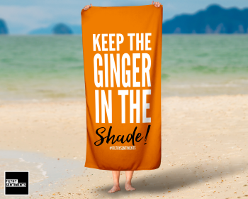 GINGER SHADE  TOWEL / K021
