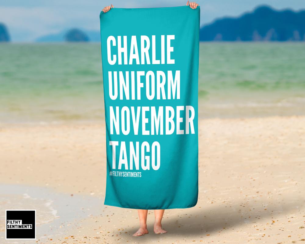 CHARLIE TOWEL