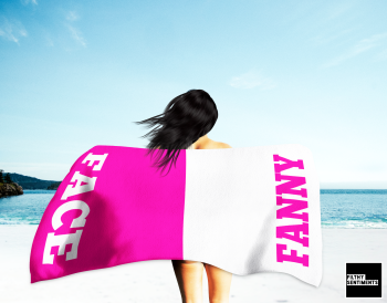 FACE & FANNY TOWEL / K 034