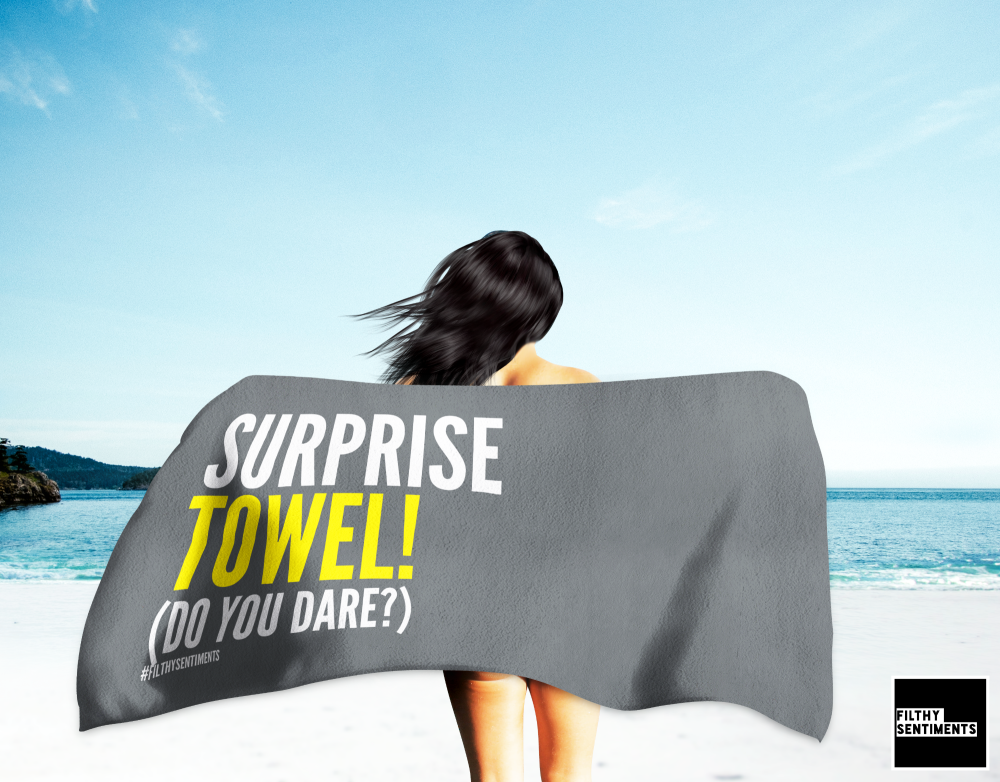 AWESOME SURPRISE TOWEL