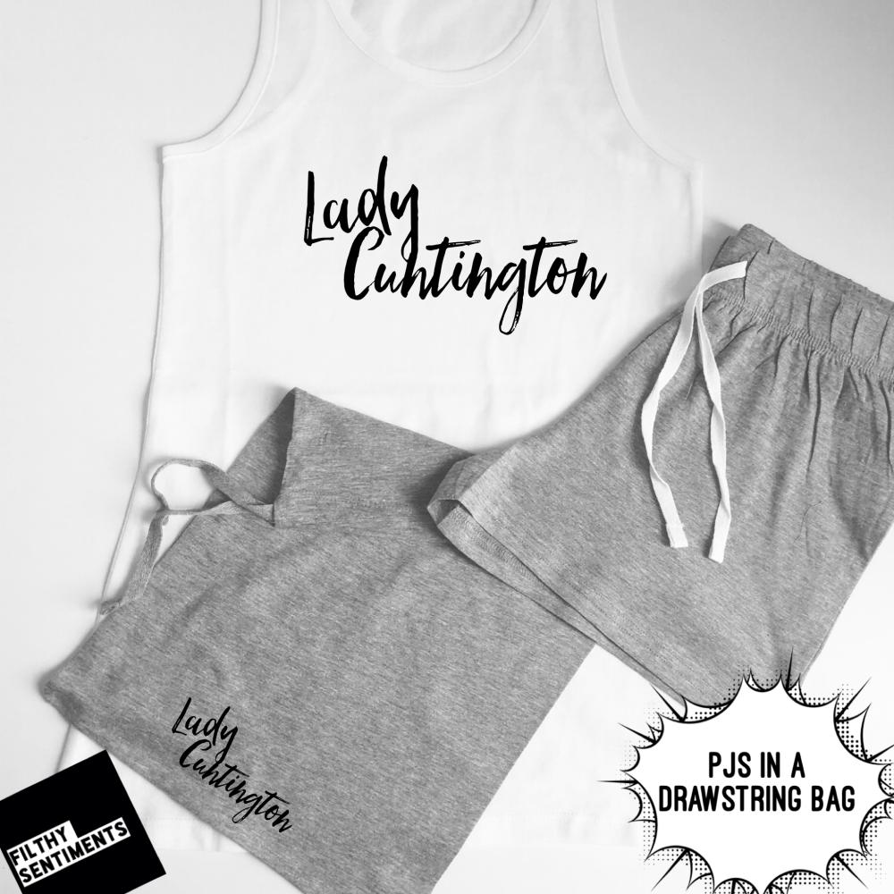 Lady Cuntington PJS