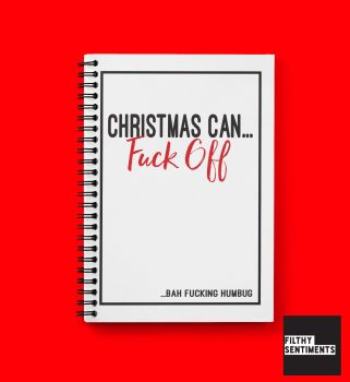 CHRISTMAS CAN FUCK OFF NOTEBOOK - N006