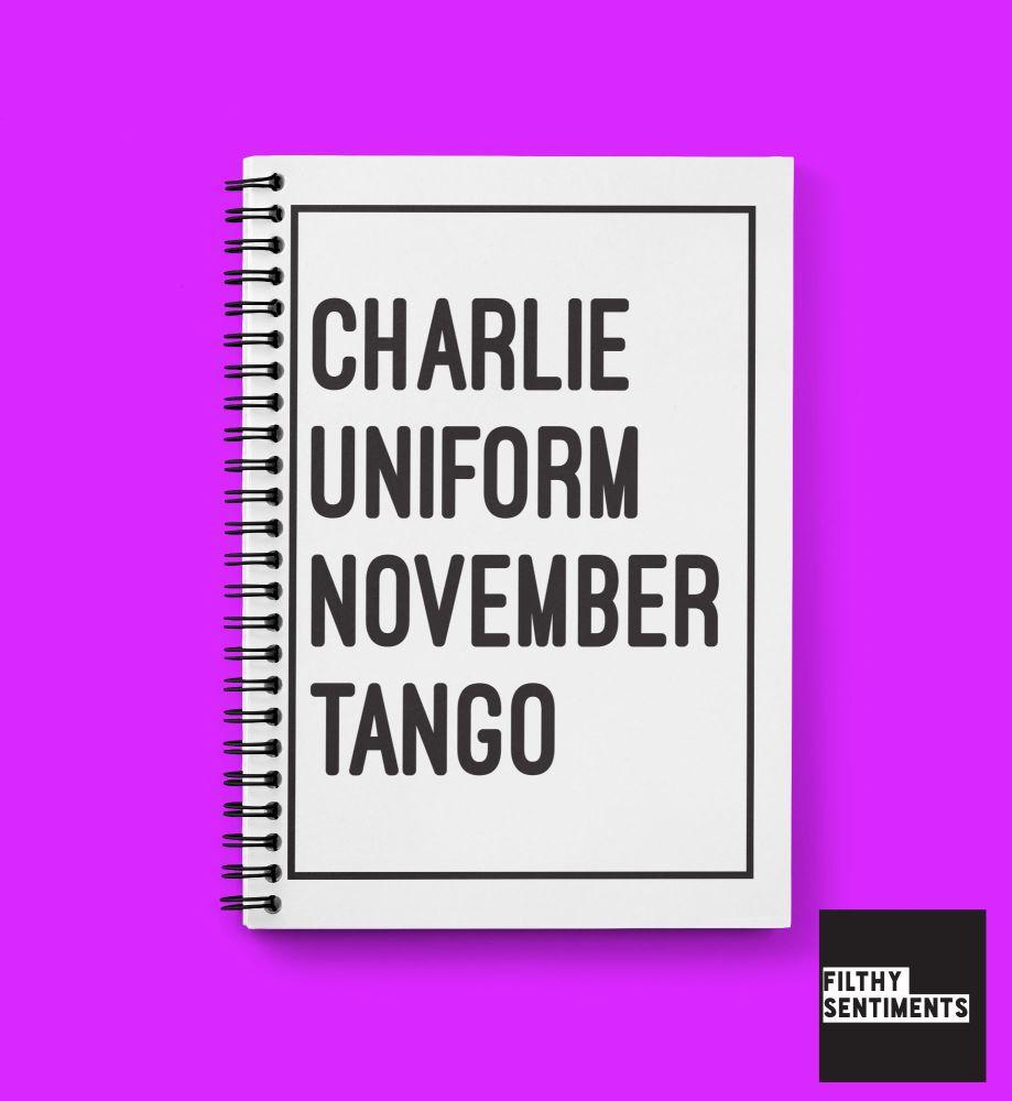 CHARLIE NOTEBOOK - N004