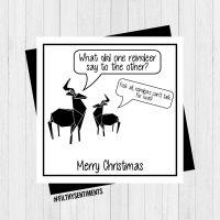 Reindeer card PER29
