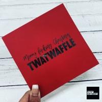 MERRY XMAS TWATWAFFLE CARD - FS818