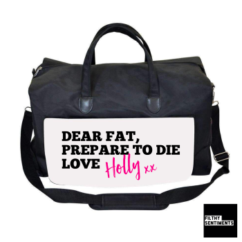 DEAR FAT GYM BAG