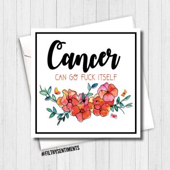 Cancer fuck off card - Per27