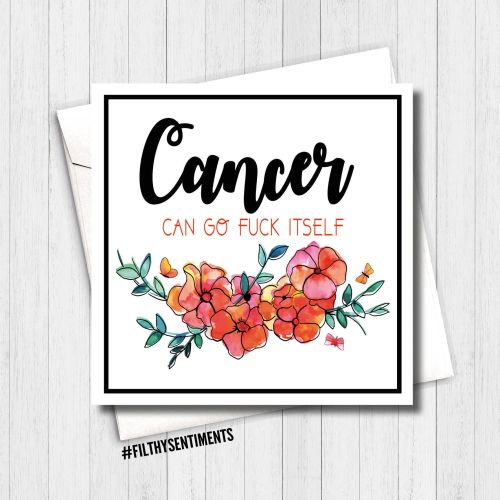 *NEW* CANCER CARD - PER27