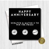 Anniversary Blowjob scratch card