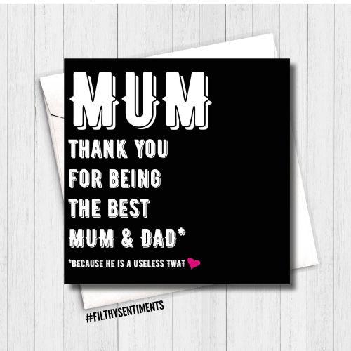 BEST MUM CARD - FS114 - H00013