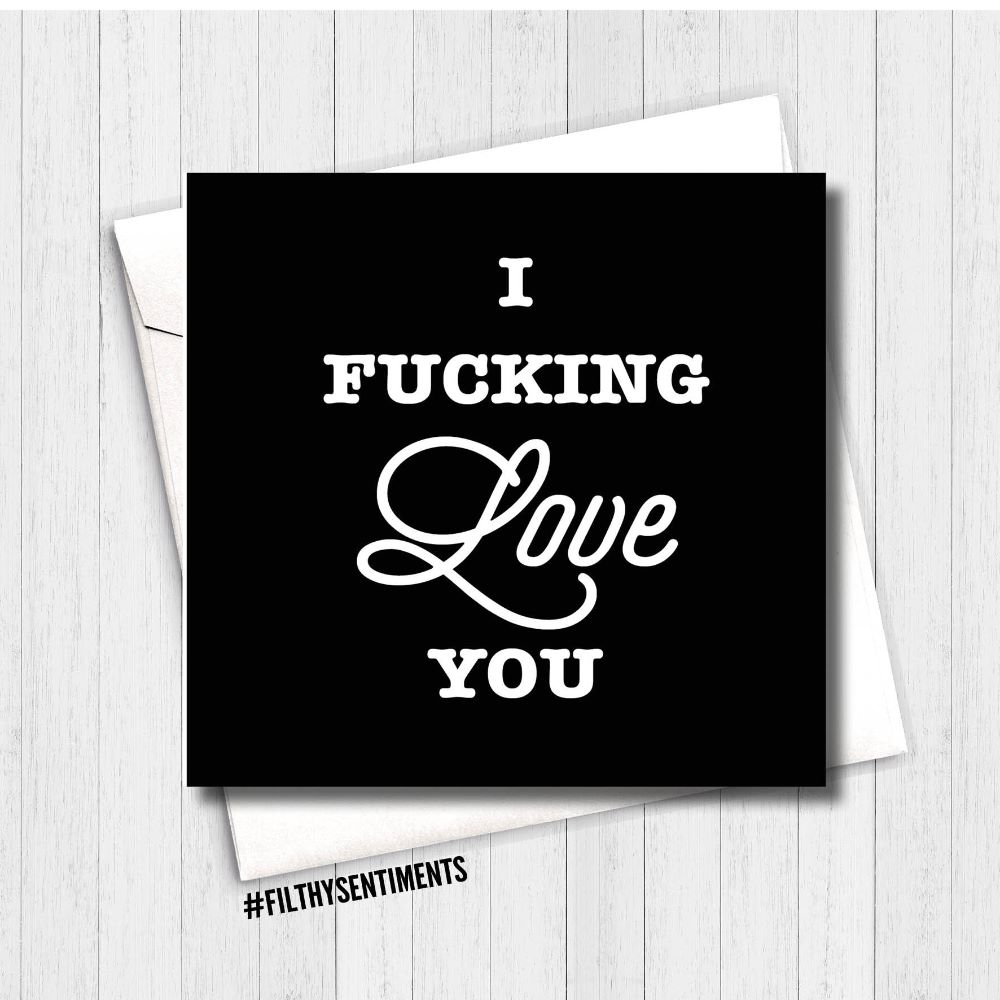 RUDE AND FUNNY LOVE CARDS