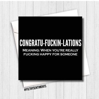 congratu-fuckin-lations  FS157 - G0059