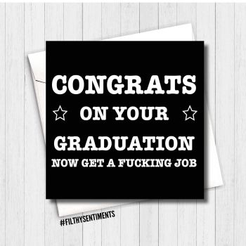 Congrats on your graduation FS173 - G0070