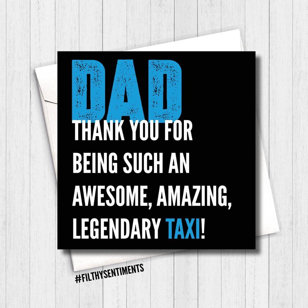 DAD TAXI CARD - FS291 - R0034